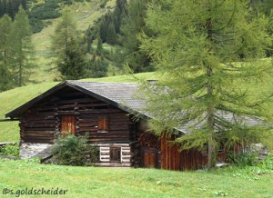 Traditionelles Holzhaus