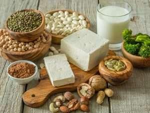Nüsse und Kerne, Sojaproduke und andere Hülsenfrüchte